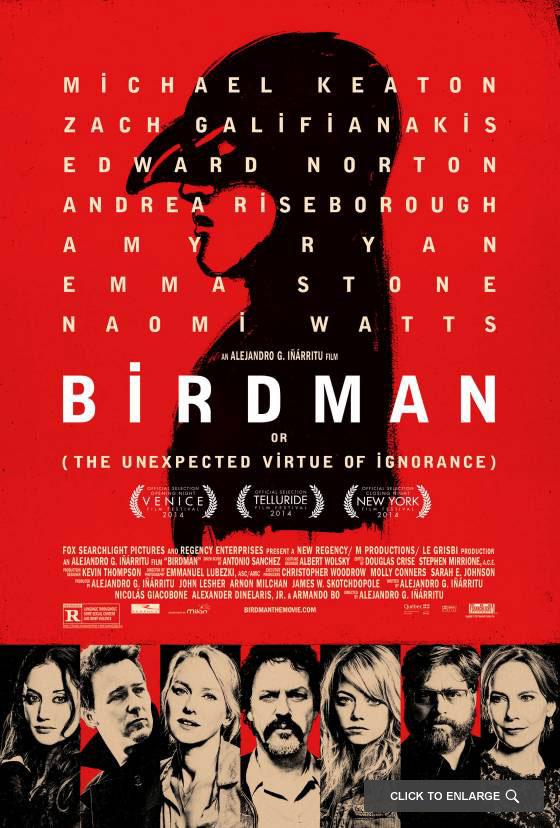 Birdman-Locandina