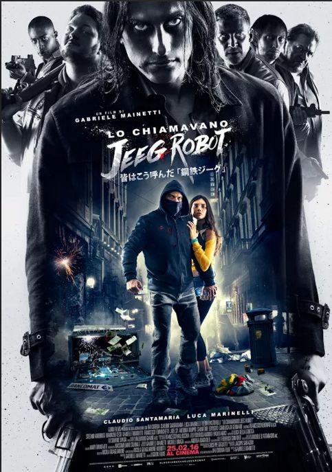 jeeg robot poster
