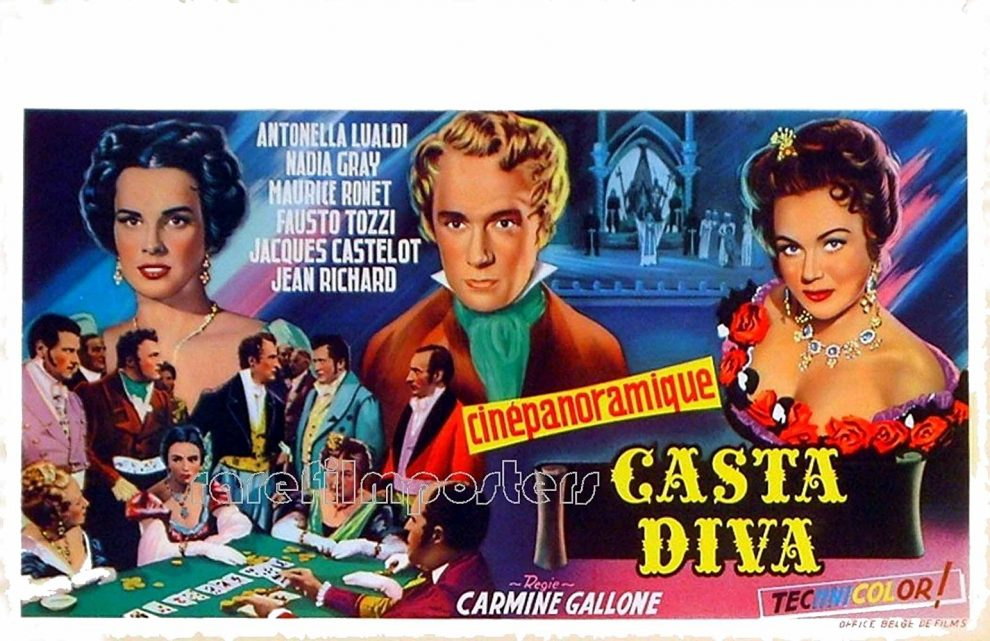 Come eravamo rassegna di film a carattere musicale a - Casta diva film ...